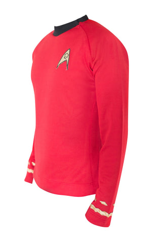 Star Trek Costume Scotty TOS Uniform Classic The Original Series Shirt - cosplayboss