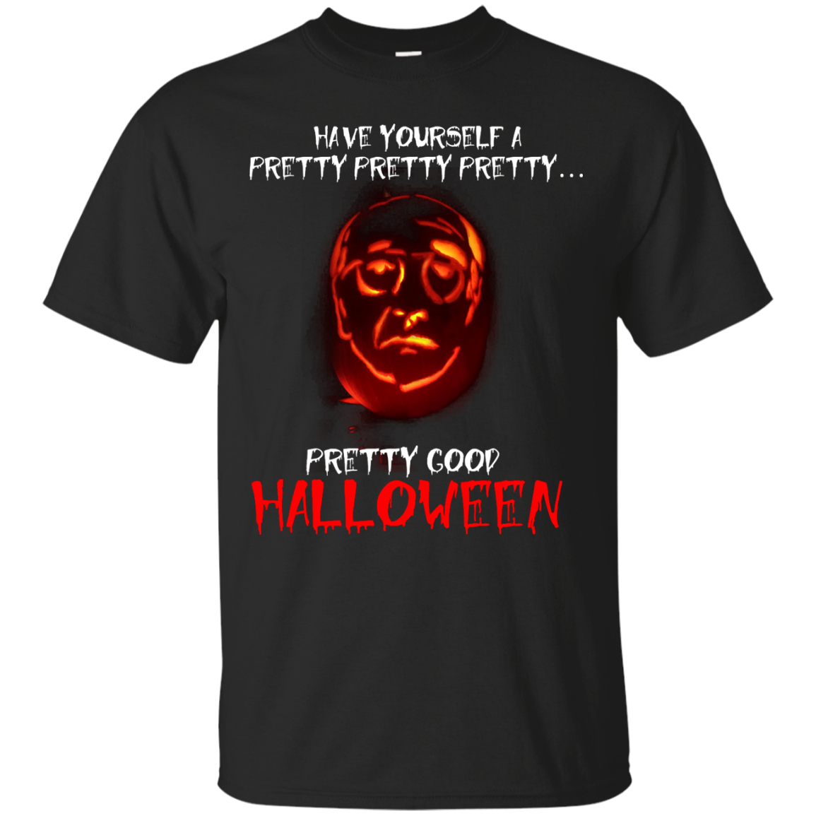 larry david have yourself a pretty pretty pretty good halloween - Good Halloween Font