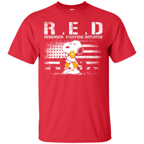 Remember Everyone Deployed - Snoopy - snoopy shirts