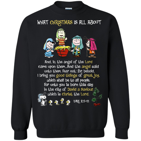 Snoopy - What christmas is all about - Full Colours