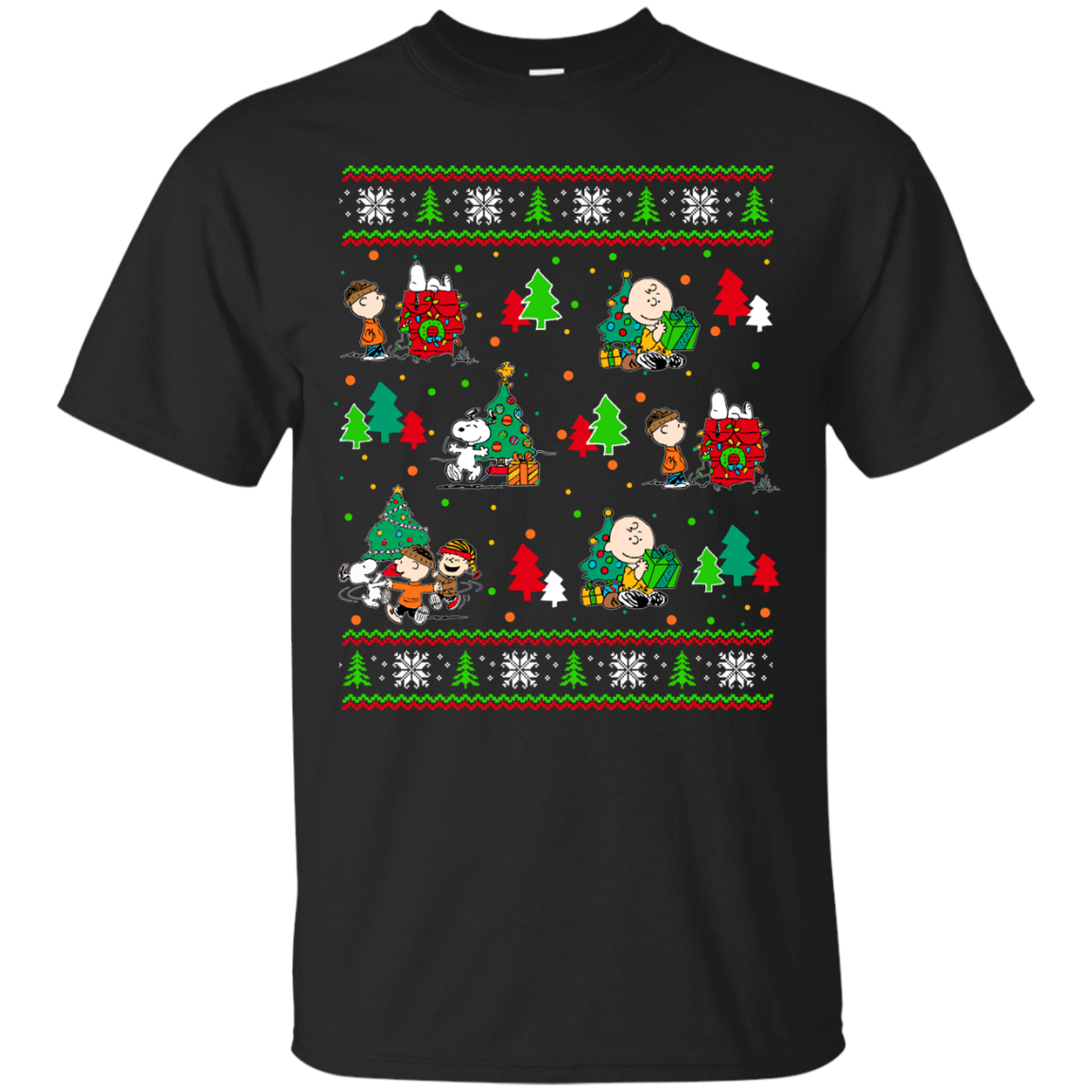 Peanuts friends - Give Christmas gifts