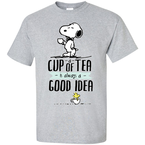 Snoopy- Tea fan - snoopy shirts