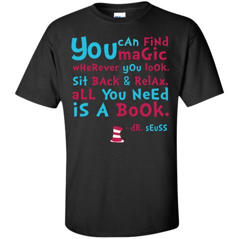 All you need is a book - tee shirt, hoodie, long sleeve