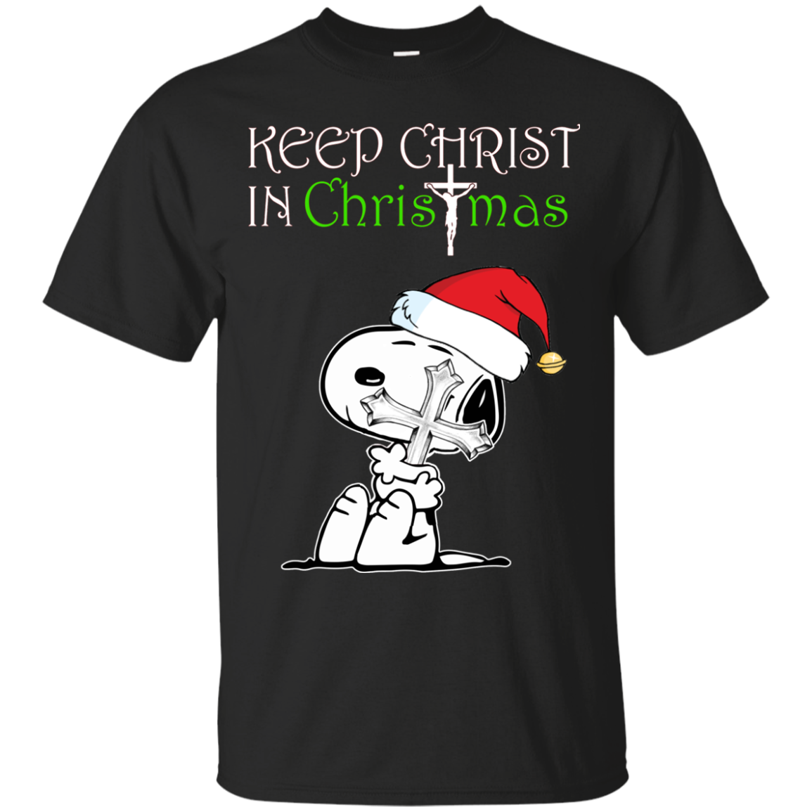 Snoopy - Keep Christ in christmas