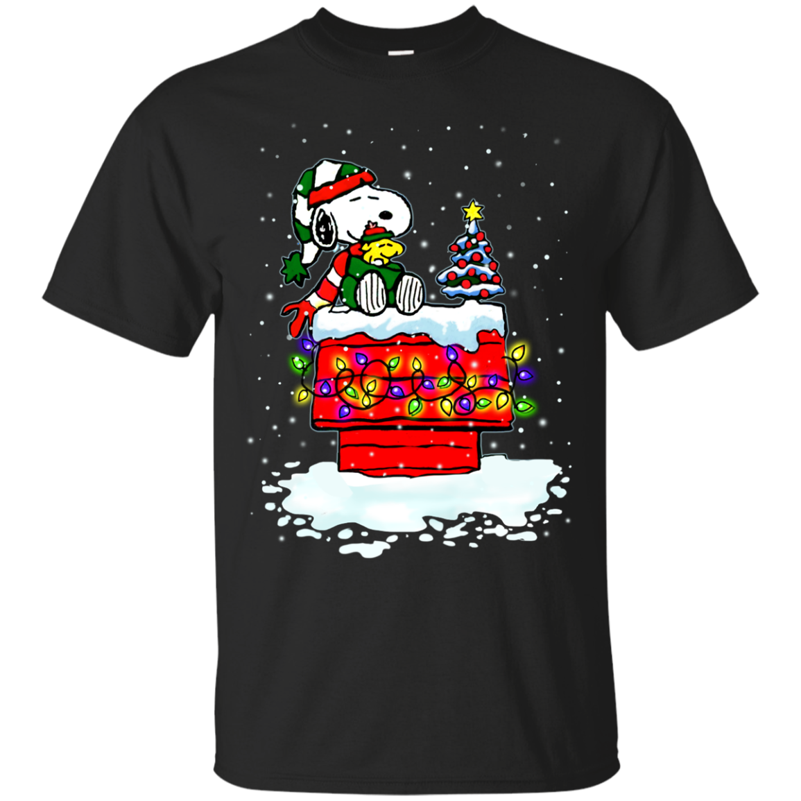 snoopy christmas lights - Snoopy Christmas Shirt
