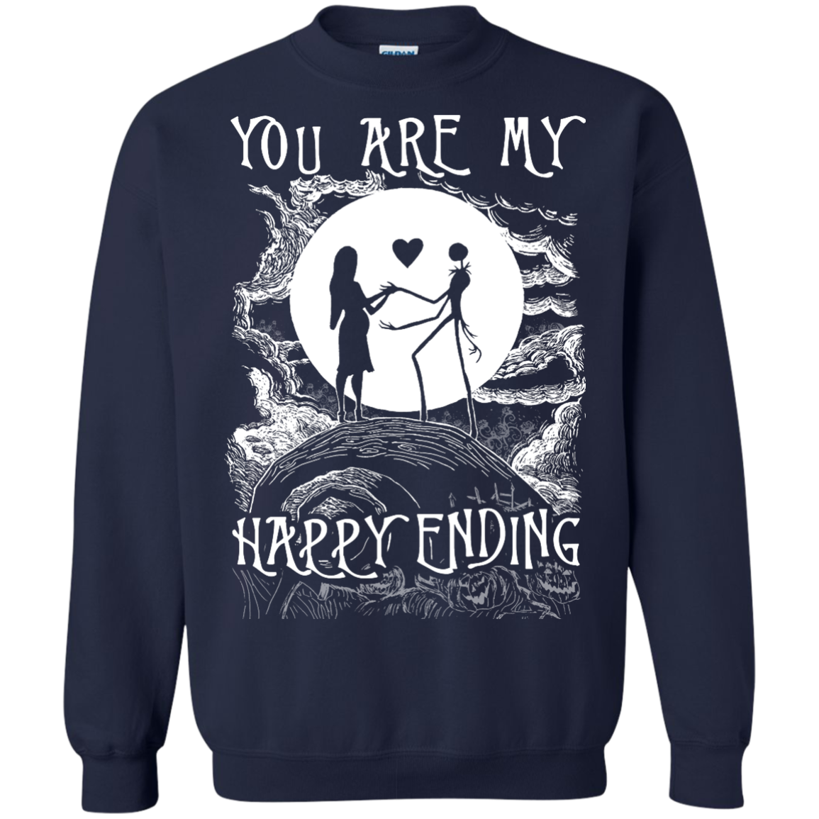 You are my happy ending - Nightmare Before Christmas
