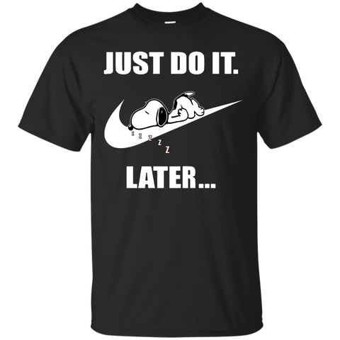 Snoopy - Just do it....later