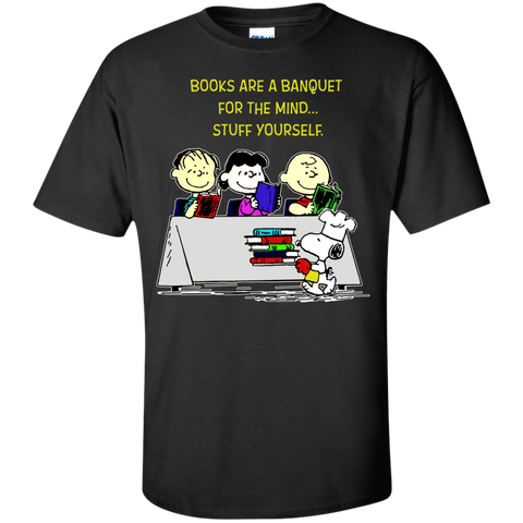 Peanuts - Books are a banquet for the mind