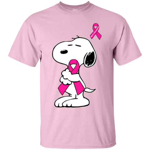 Snoopy - Support breast cancer awareness - Shirt