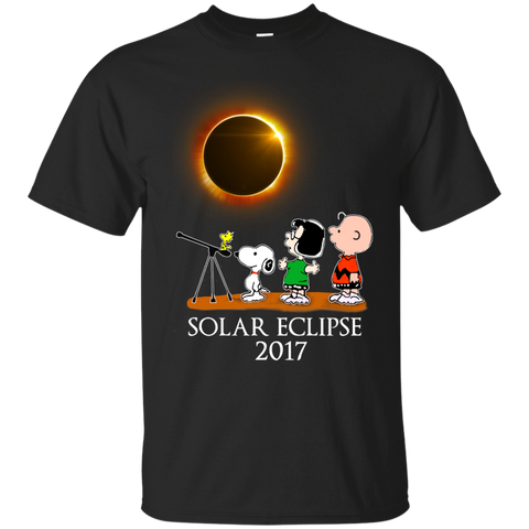 Snoopy and friends - Solar Eclipse 2017 Tshirt