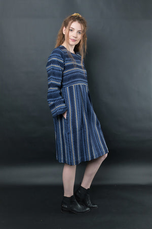 KAITLYN JACQUARD  DRESS - zohaonline