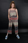 NIKI PRINTED JUMPSUIT - zohaonline