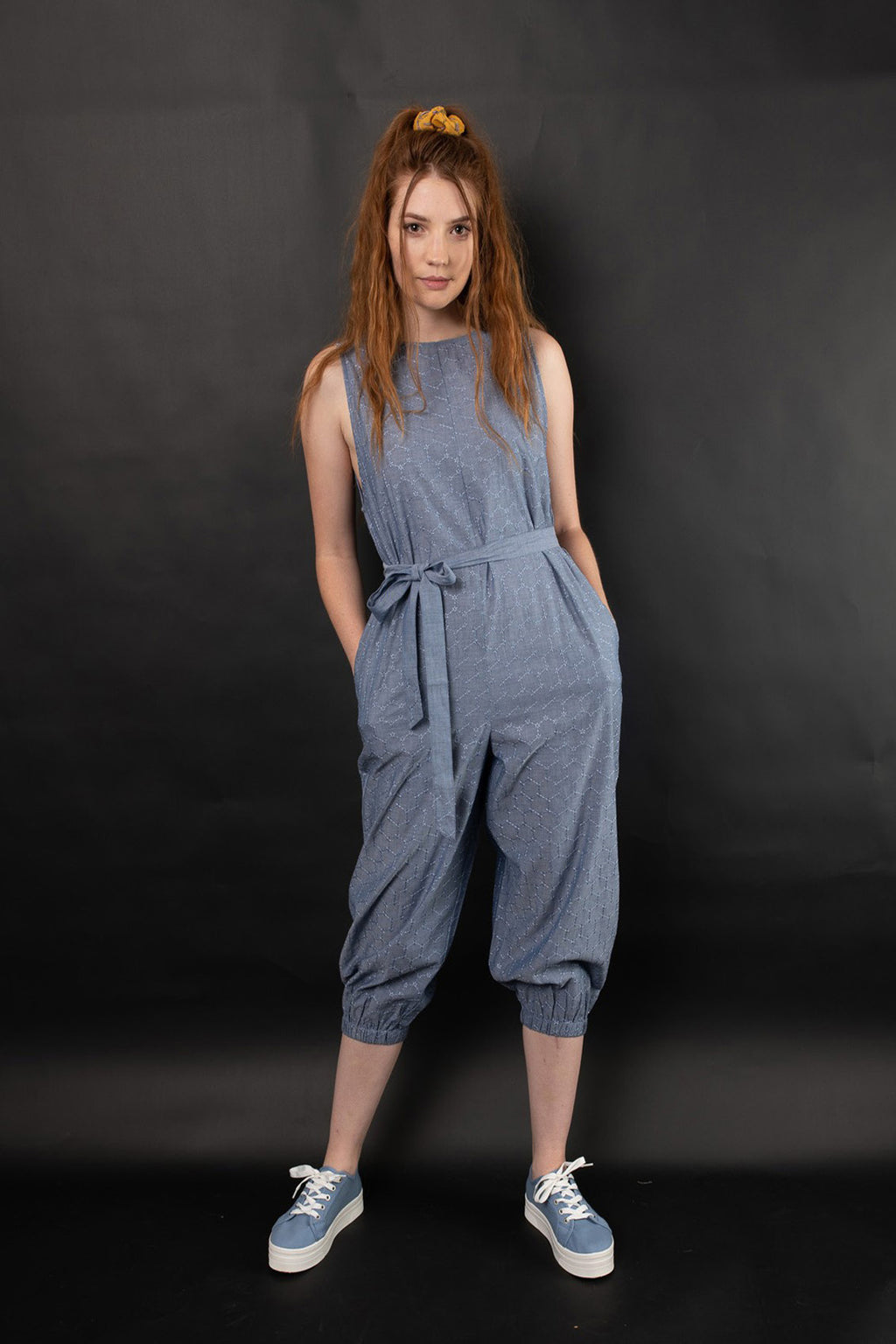 REHAN EMBROIDERED JUMPSUIT - zohaonline