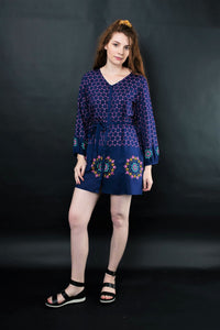 MELIKA EMBROIDERED TUNIC - zohaonline