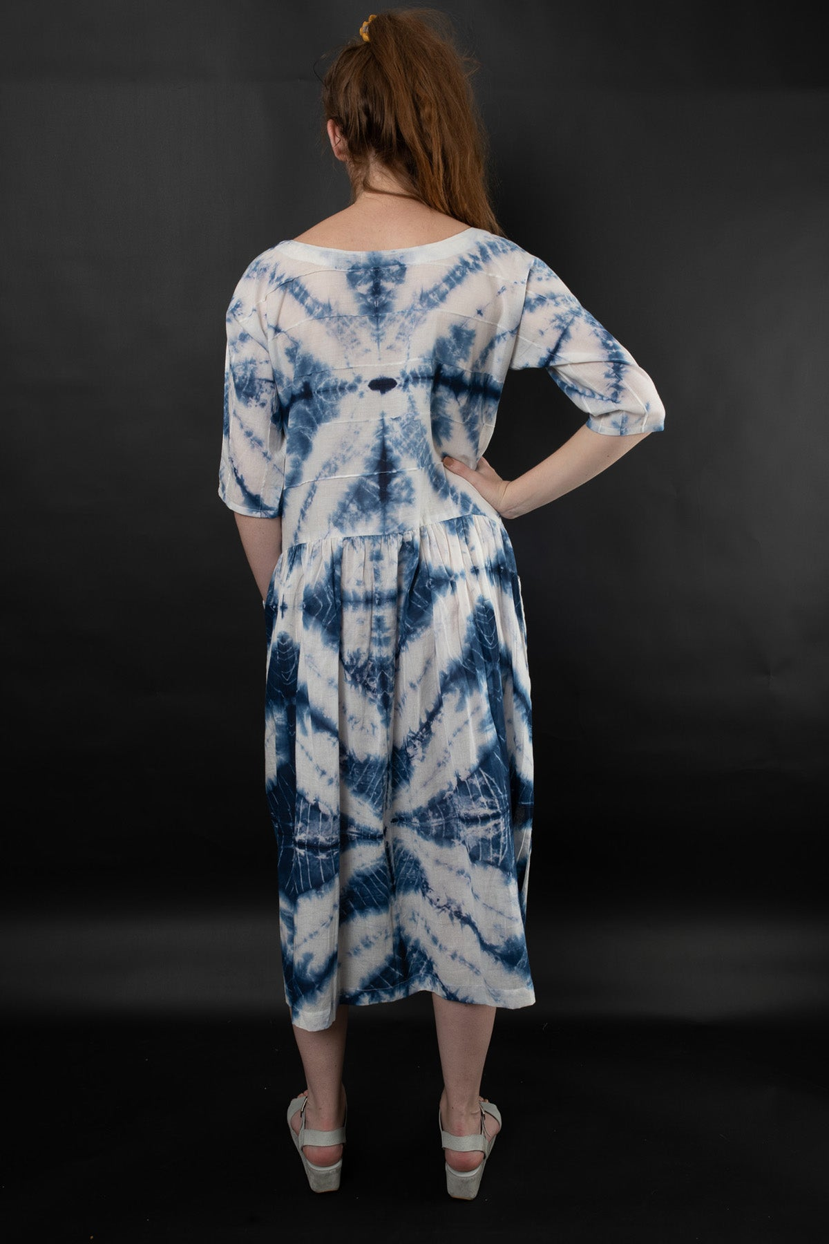 NOREEN SHIBORI DRESS - zohaonline