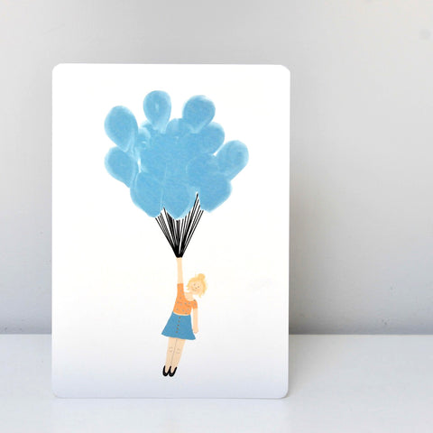 Balloon Post Card