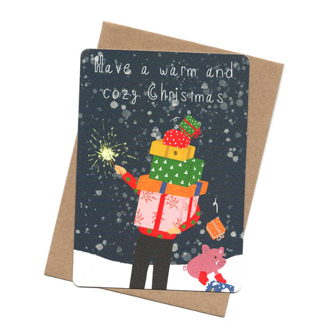 Christmas Gift Post Card