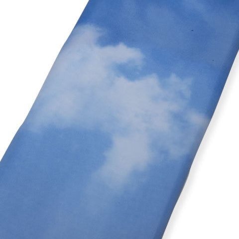 Shower Curtain with Clouds