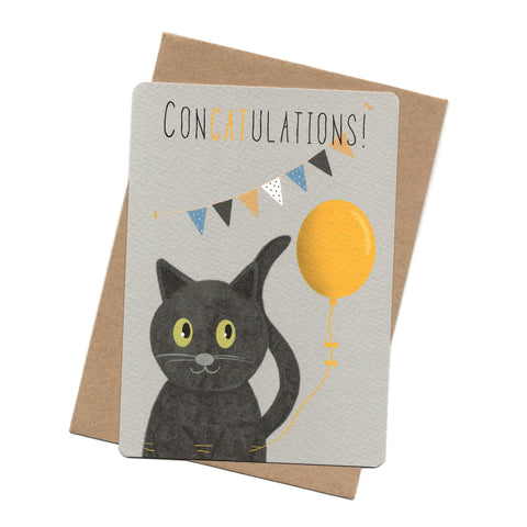 Concatulations Post Card