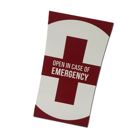 Sticker - Drink If Any Emergency Occurs