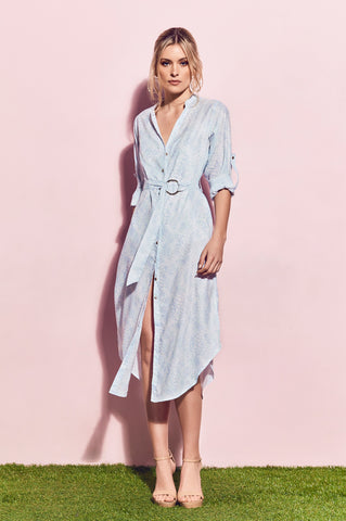 Matea Designs ELEANOR White Duster Dress