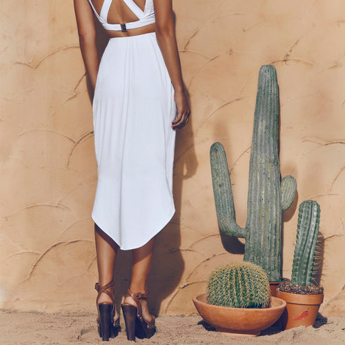 Matea Designs THE BEAUTY OF DREAMS White Skirt