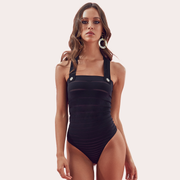 ELLY Black Bodysuit