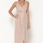 SUNSHINE Baby Pink Wrap Dress