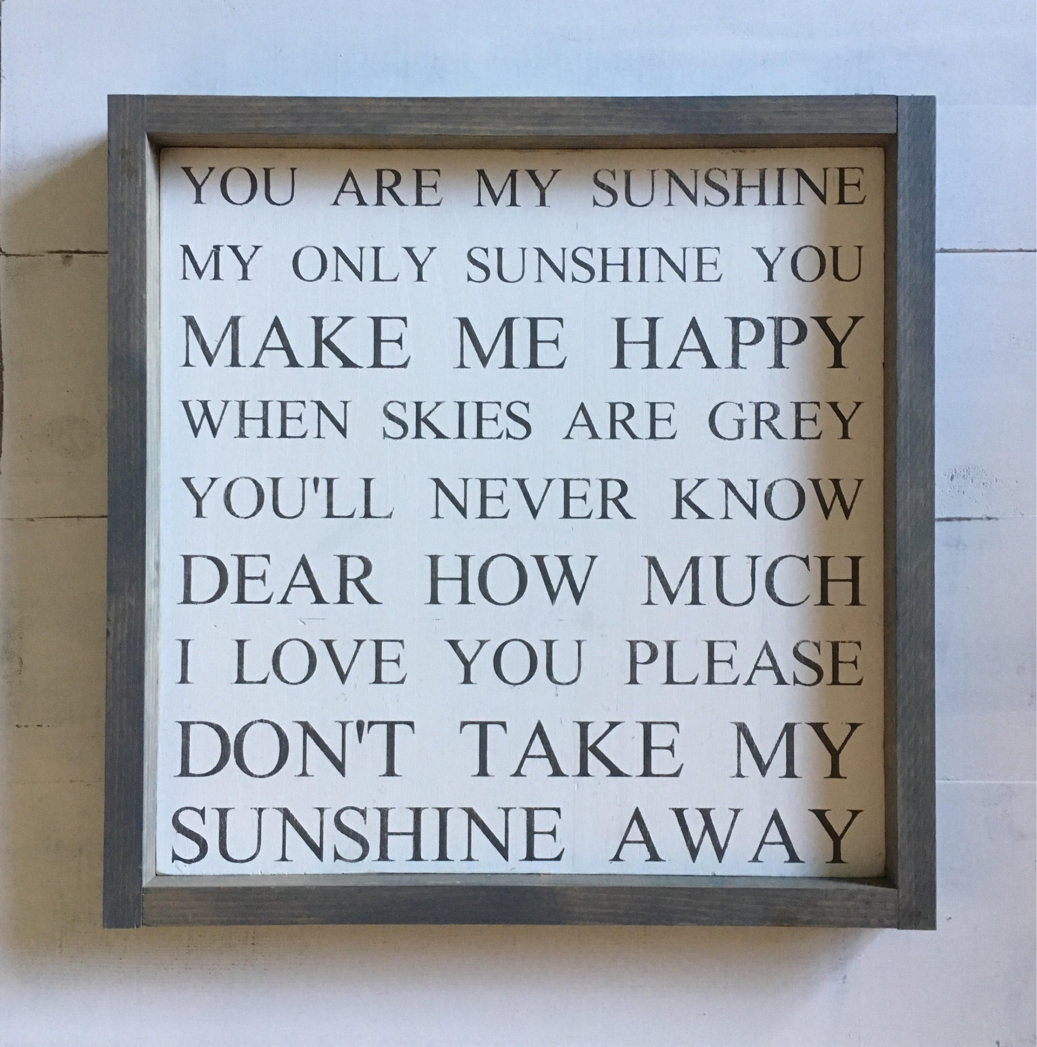 You are my  sunshine nursery sign | wood sign