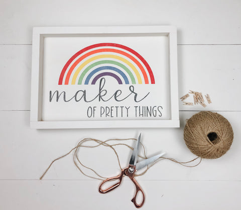 Maker of pretty things