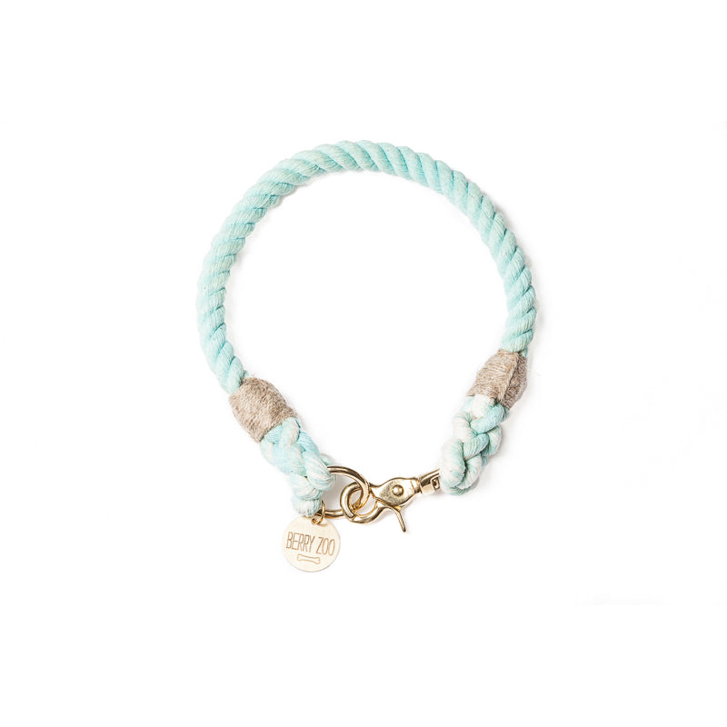 Classic collar mint gold