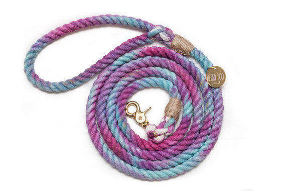 Purple Chameleon Leash