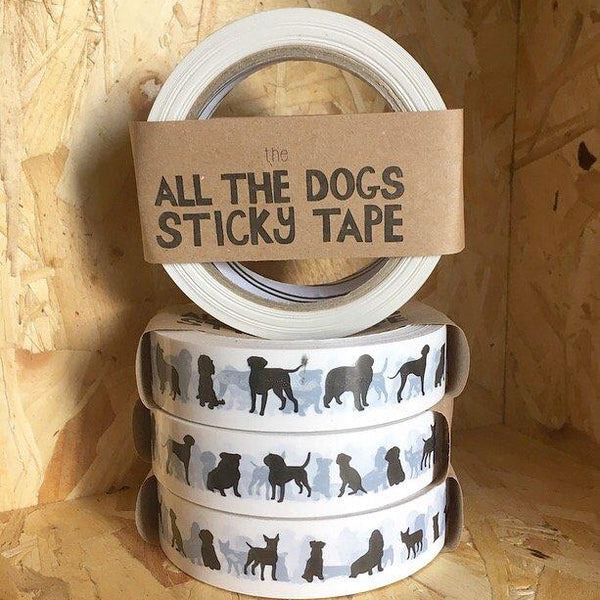 All The Dogs Sticky Tape