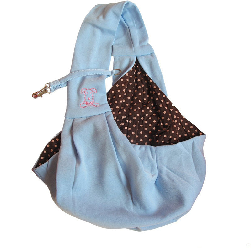 Reversible dog sling carry bag