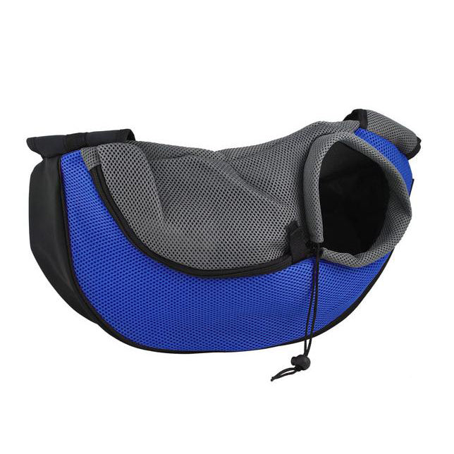 Adjustable dog travel bag sling perfect for travelling, walking, hiking and shopping with your dog