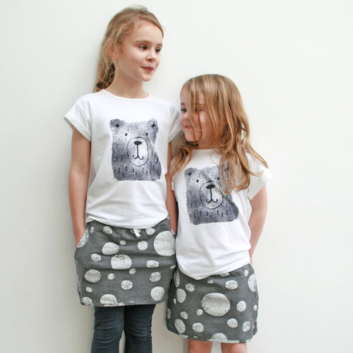 Bear T-Shirt for  Kids and Toddlers