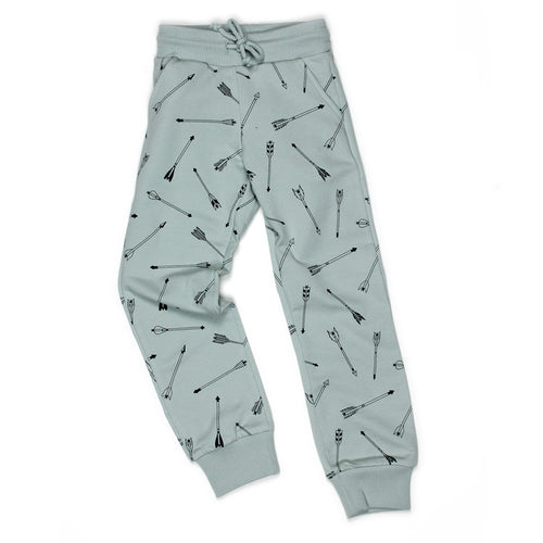 Grey Arrow Sweatpants - Well Grounded Co