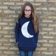 Navy Moon Sweatshirt