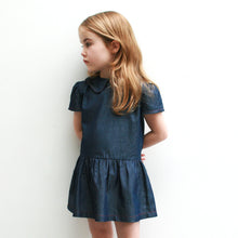 Peter Pan Collar Denim Dress