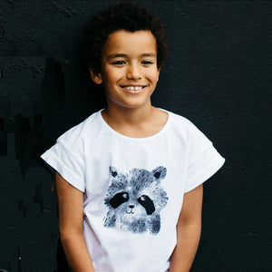 Raccoon T-Shirt - Well Grounded Co Tops