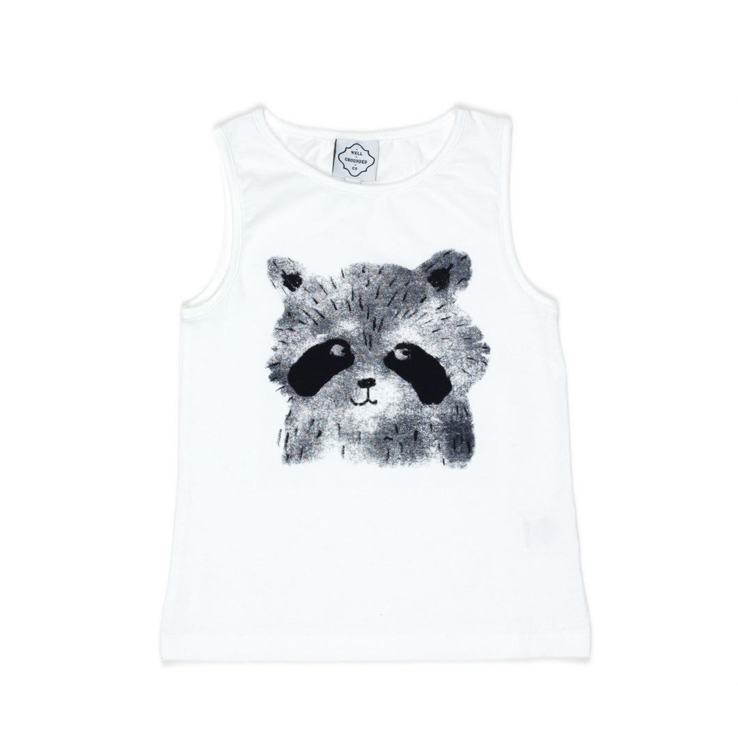 Raccoon Vest - Well Grounded Co Tops