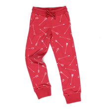 Red Arrow Jersey Track Pants - Well Grounded Co Bottoms