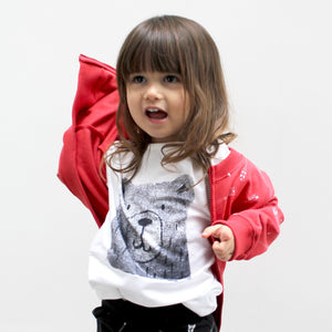 Bear T-Shirt for  Kids and Toddlers - Well Grounded Co Tops