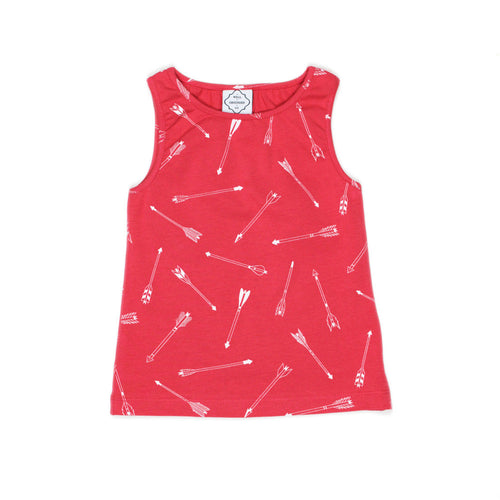 Red Arrows Vest - Well Grounded Co Tops
