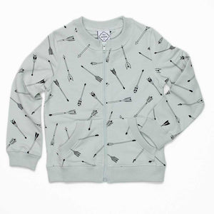 Grey Arrow Jacket - Well Grounded Co