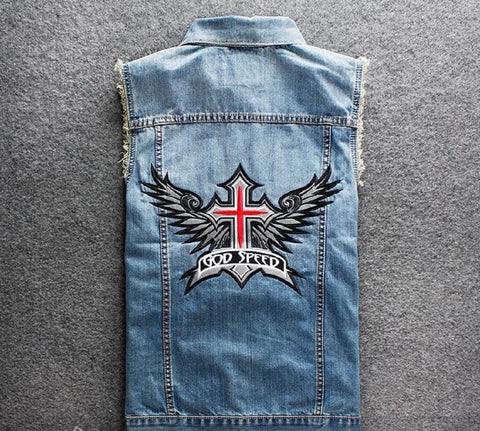 God Speed Biker Vest