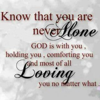 abiding in faith - know that you are never alone - ingodsservice.store