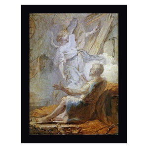 Angel Frees Peter Canvas Art Print, Canvas Oil Paintings, Pictures and Prints,In God's Service Store