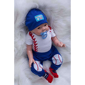 Baseball Fan Reborn Baby Boy Doll, Baseball Fan Reborn Baby Doll,In God's Service Store