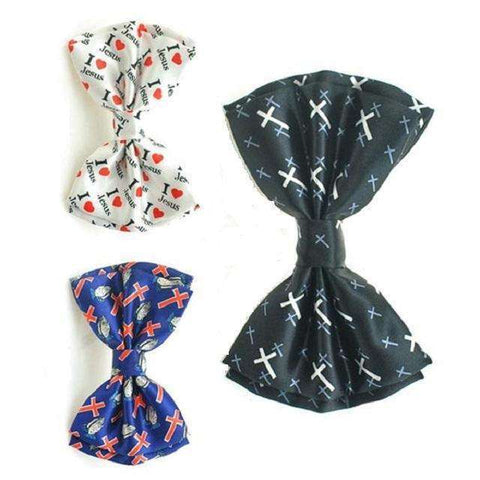 Christian Inspirational Bow Ties For Men, Christian Bow Ties,In God's Service Store